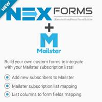 Mailster for NEX-Forms v7.5.1